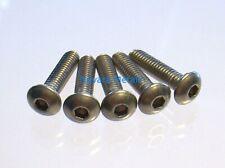 100 viti Brugola Testa Bombata M4x8 Inox ISO 7380 vis tornillos parafusos screws
