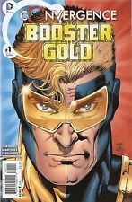 Convergence Booster Gold '15 1 Jurgens Cover NM S3