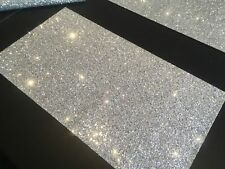 "4 Glitter Fabric Table Placemats for Christmas and Wedding 10"" x 18""(250x450mm)"