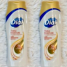 2x Dial Triple Moisture Body Wash 16oz Shea Jojoba And Mango Butters 16oz Each