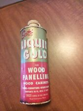 Vintage Scott's Liquid Gold Wood Cleaner. Empty Pint Can