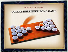 Beer Pong Game Collapsible T Harris Collection Drinking Party New in Box