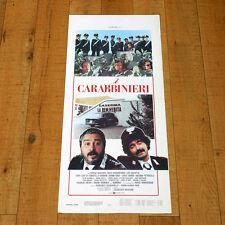 CARABBINIERI locandina poster Massaro Abatantuono Montagnani Gullotta V98