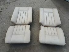 Mercedes Benz W124 COUPE cream rear seats
