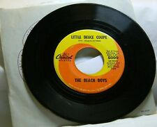 THE BEACH BOYS LITTLE DEUCE COUPE / SURFER GIRL 45 RPM RECORD P