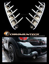 2010-16 MINI R60 R61 Countryman Cooper S/SD Chrome sfiato posteriore Air stecca Surround