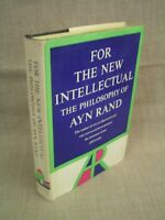 For the New Intellectual - The Philosophy of Ayn Rand 1961 1st Ed. HCDJ Book