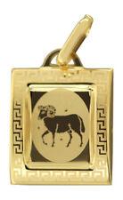 Sternzeichen Widder Gold 585 Anhänger 14 Karat Kettenanhänger Gelbgold