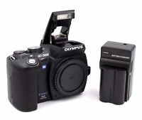 Olympus EVOLT E-500 8.0MP Digital SLR Camera - Black (Body Only)