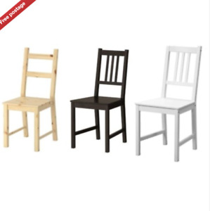 Ikea Ivar & Stefan,Dining Home Office Multi Use Chairs,Solid Wood,3 Colours,New