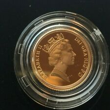 1996  proof half sovereign   boxed with coa  #15285