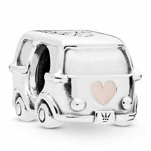 Genuine Pandora ALE 925 Sterling Silver Camper Van Campervan Charm 797871EN160