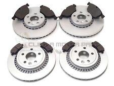 VOLVO XC60 2008-2015 FRONT & REAR BRAKE DISCS AND PADS SET (READ DESCRIPTION)