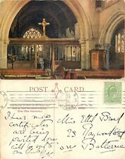 s10570 St Mary Magdalene Church,  Woodstock, Oxfordshire, England postcard 1908