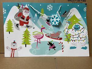24 JUMBO CHRISTMAS GIFT BAGS EXTRA LARGE PRESENTS JOBLOT SHOP SANTA NEW XM116