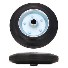 Steel Spare Replacement Wheel for Jockey Wheels Roller Solid Rubber Tyre 200mm