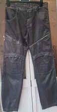 "Strellson swiss cross ""pluto-d' jeans pantalon 34"" x 34"" gris métallisé"
