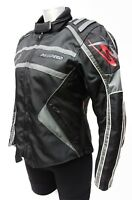 Ladies Black Gunmetal - Prospeed Silver Waterproof Motorcycle Jacket Was £99.99