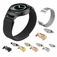 2* Stainless Steel Watch Band Strap Adapter Connector for Samsung Gear S2 R720