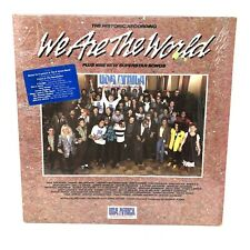 USA FOR AFRICA: We Are The World 1985 LP Columbia USA-40043 Shrink / HypeSticker