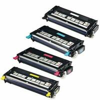 Set of 4 Compatible Toner Cartridges  For Xerox Phaser 6130, 6130N