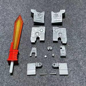 LED Sword Foot Hand Teeth Head Screw Hole Filling Upgrade kit For SS86 Grimlock