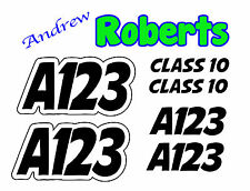 Autograss Numbers Any Class Door Signs Grass Track Graphics Full Set NASA