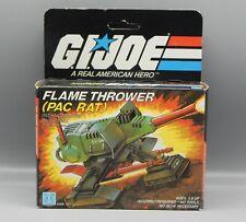 Vintage 1983 Hasbro GI Joe PAC RAT Flame Thrower COMPLETE w/ Box ARAH Vehicle !!