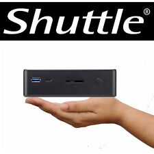 Shuttle nano PC Intel 3855U 1,6Ghz 4GB 250GB WLAN USB3 HDMI VESA NUC Windows 7