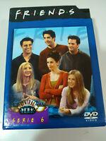 FRIENDS TEMPORADA SEASON 6 COMPLETA 4 DVD DOBLE EDICION CAJA DURA CENTRAL PERK