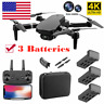 4K HD Dual Camera RC Drone Wi-Fi FPV Selfie Drone Foldable Quadcopter Toy Gift!!