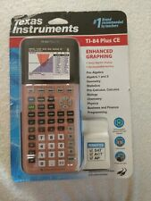 Texas Instruments Ti-84 Plus CE Plus Graphing Color Calculator - Rose Gold NEW