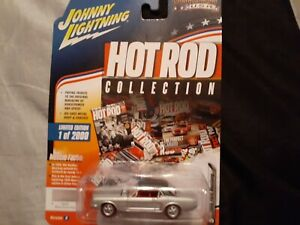 Johnny lightning 1/64 scale 1966. FORD MUSTANG hot rod 1 of 2000