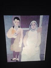"""Arshile Gorky """"Artist & His Mother"""" 35mm Slide Armenian Abstract Expressionism"""