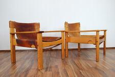2 x sessel loungechair BERNT PETERSEN für IKEA 1960er-jahre vintage 60s 70s