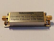 Tektronix Low-Pass Filter 119-5931-00 1100 MHz ORS 20 SD-48 SD-43