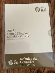 The Royal Mint 2013 United Kingdom Definitive 8 Coin Set - DUW13RB
