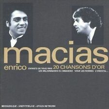 ENRICO MACIAS - 20 CHANSONS D'OR NEW CD