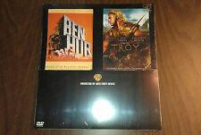 Ben-Hur & Troy DVD Movies 2 Movie Set NEW