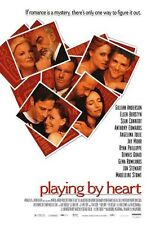 PLAYING BY HEART MOVIE POSTER ~ ORIGINAL 27x40 Angelina Jolie Jon Stewart