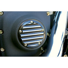 Joker Machine Black Finned Ignition Points Cover for 1999-2013 Harley Twin Cam