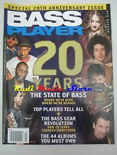 BASS PLAYER Magazine Holyday 2008 Michael Manring Willy Lee Victor Wooten  NO cd