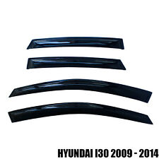 Compatibility For Hyundai i30 2009-14 Window Rain Guard Visors Weather Shield