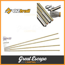 OZtrail 8.5mm Fibreglass Tent Pole Kit Replacement Repair Camping