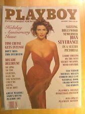 Playboy Magazine January 1990 Joan Severance PM Review Peggy McIntaggart