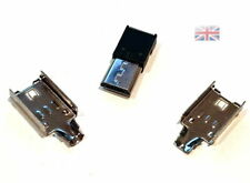 ONE Micro USB 5 Pin Type-B Male NO Solder Connector Plug Metal Cover UK