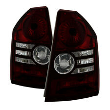 Jdragon Fit Chrysler 08-10 300 Red Smoke Replacement Tail Lights Limited Touring