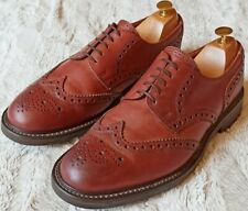 ALFRED SARGENT STIRLING MENS COUNTRY STYLE BROGUE SHOES - SIZE UK 9.5 / EU 43.5