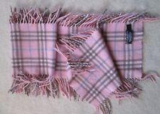 *Echarpe BURBERRY London 100% cachemire - 140 cm x 24 cm vintage foulard  scarf
