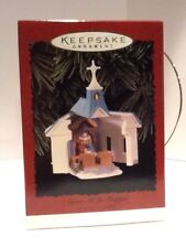 Hallmark Ornament Come All Ye Faithful Church - 1996 - Qx6244 - Mint